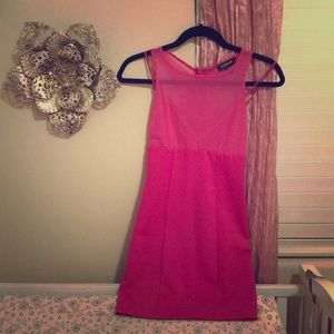 Pink Bebe dress
